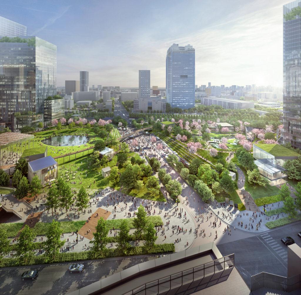 うめきた2期「都市公園全景」
